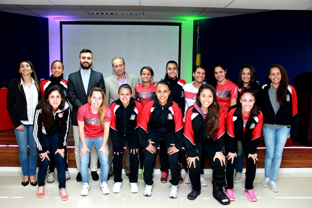 FECAF passa a patrocinar o futsal feminino de Taboão 5509577881b15
